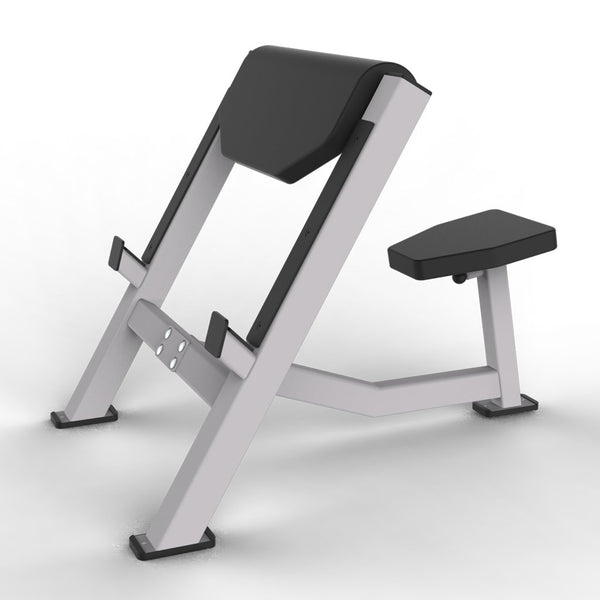 Seated Preacher Curl Bench (Easy Barbell Drop)