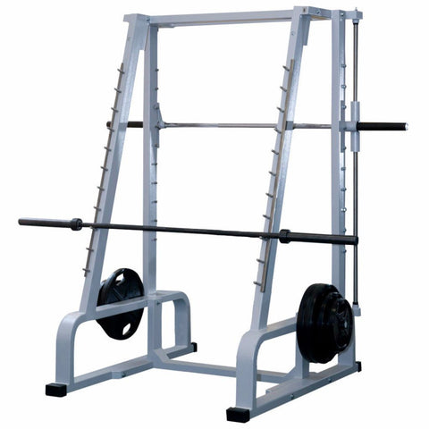 Smith Machine and Squat Rack (Both Sides)