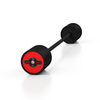 Straight Curl Barbell (10-55 kg, Black & Red)