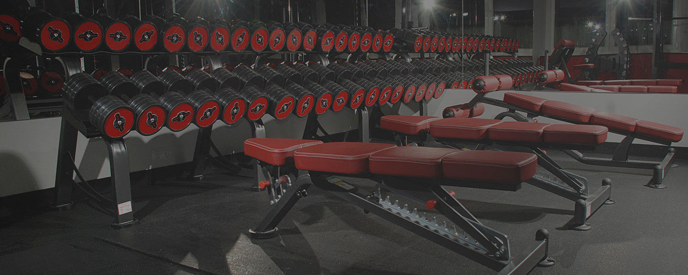 OVER 300 TYPES OF FITNESS EQUIPMENT