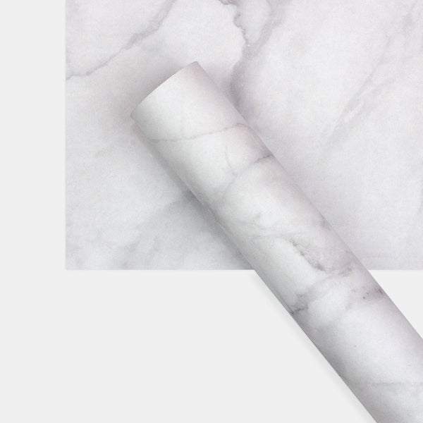 White & Black Marble Double Sided Wrapping Paper