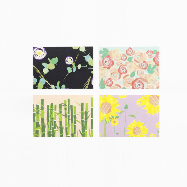 Botanical Note Cards - Pack of 16