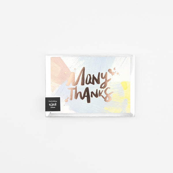 Paint Thank You Cards - Pack of 8