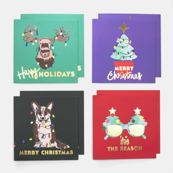 Christmas Cards - Nice - Pack of 8