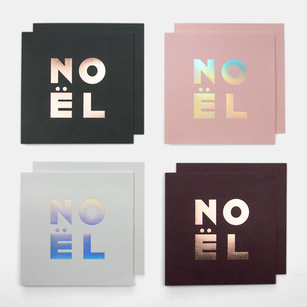 Noël Greeting Cards - Pack of 8