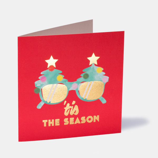 'tis The Season Greeting Card