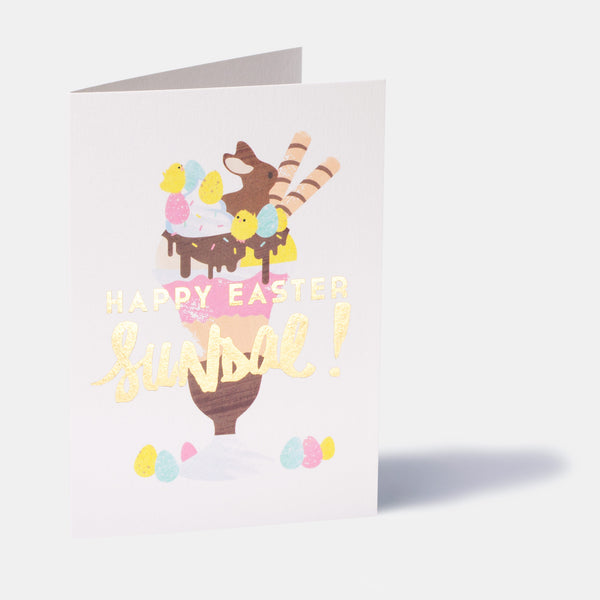 Sundae Easter Card