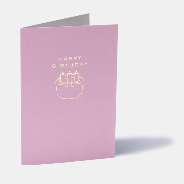 Cake Emoji Birthday Card