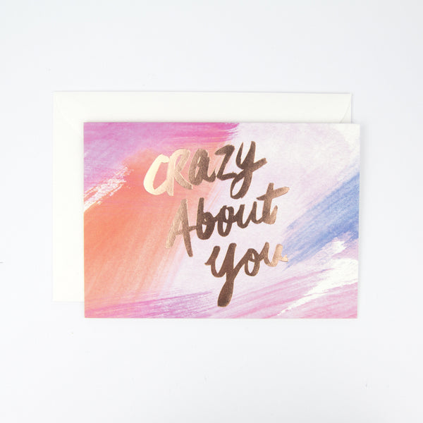 Crazy About You Card