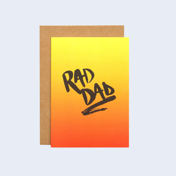 Rad Dad Father's Day Card