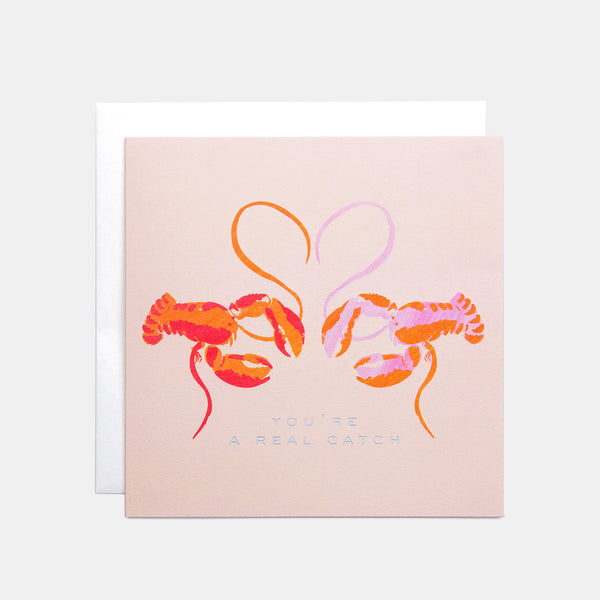 Lobster Valentine's Card