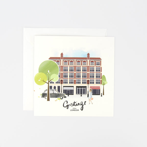 London Chelsea SW1 Greeting Card