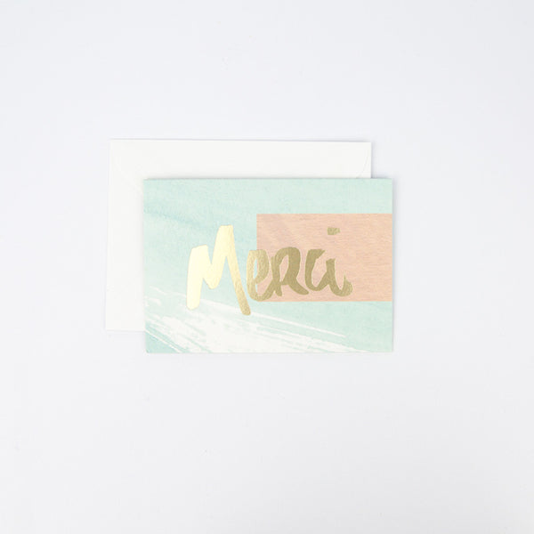 Merci Note Card