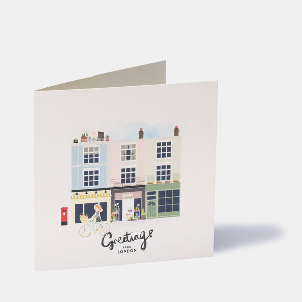 London Camden NW1 Greeting Card