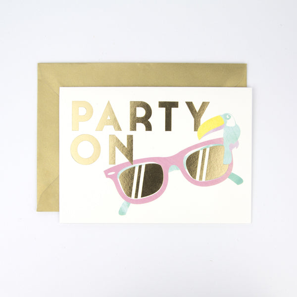 Party On Card
