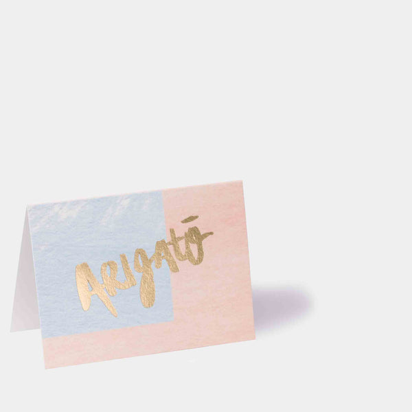 Arigatō Note Card