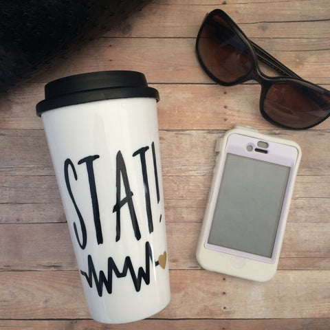 Stat! Travel Mug