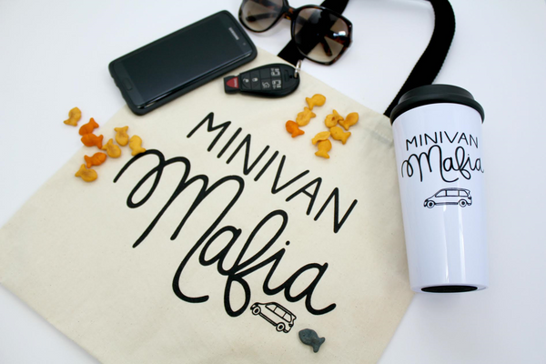 minivan mafia cute tote bag