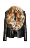 Blonde Fox Fur Collar