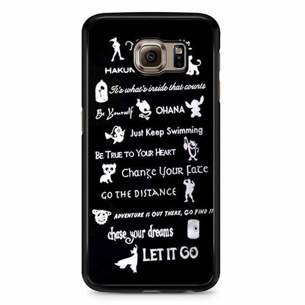 12 Best Disney Lessons Samsung Galaxy S6 Edge Case
