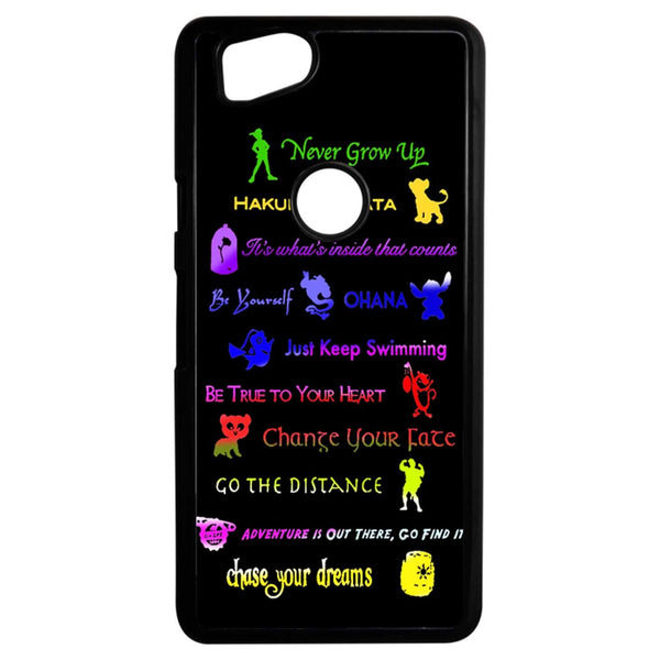12 Disney Lessons Google Pixel 2 Case