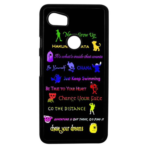12 Disney Lessons Google Pixel 2XL Case