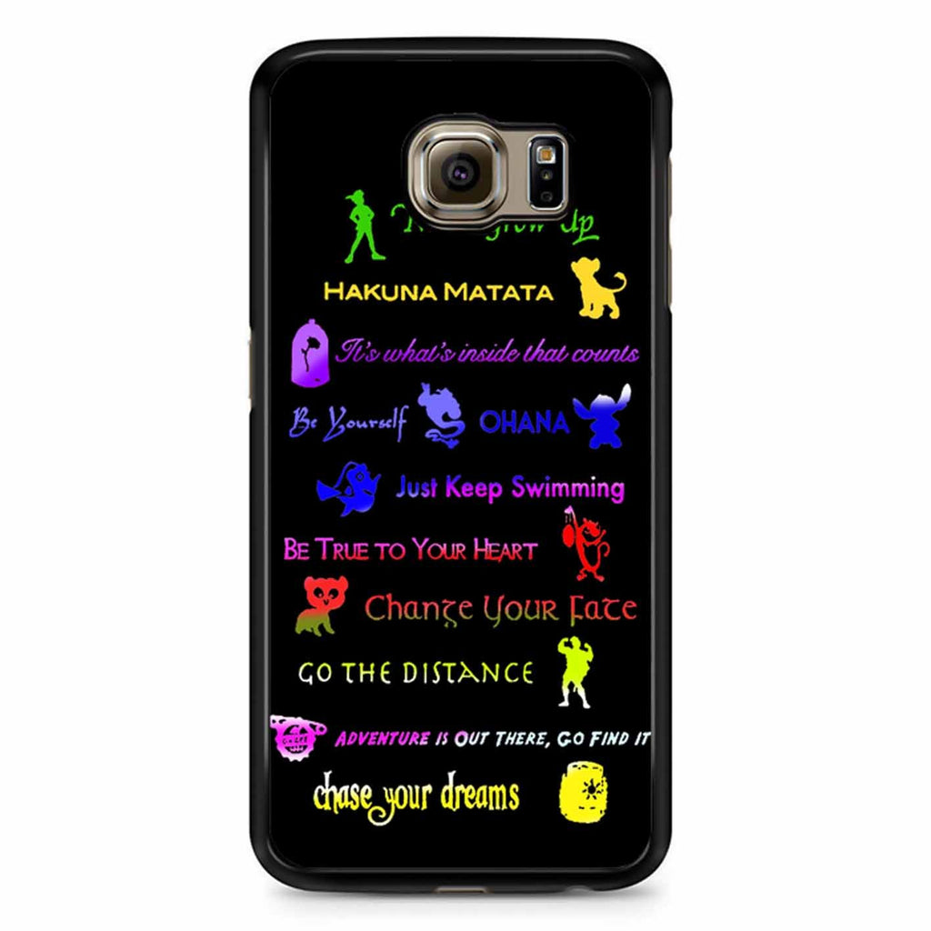 12 Disney Lessons Samsung Galaxy S6 Case