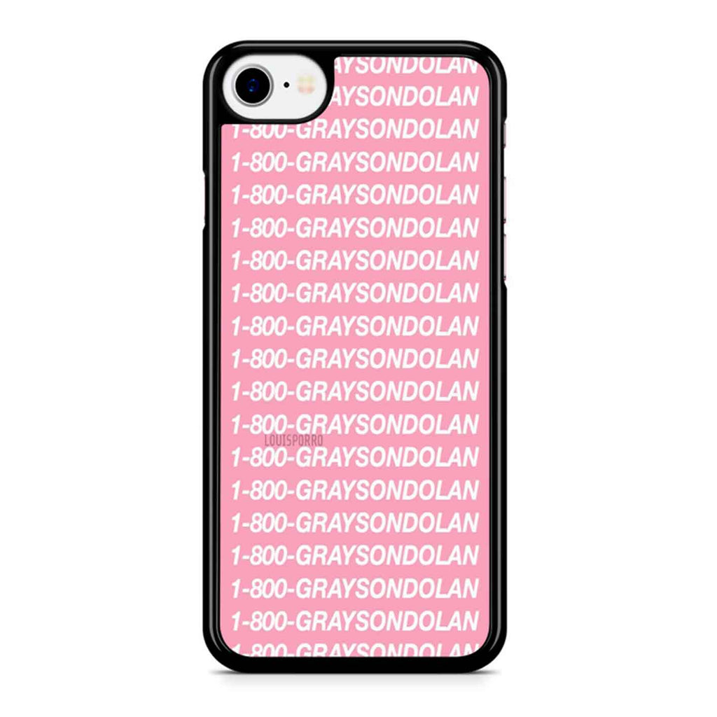 1 800 grayson dolan iPhone 8 Case