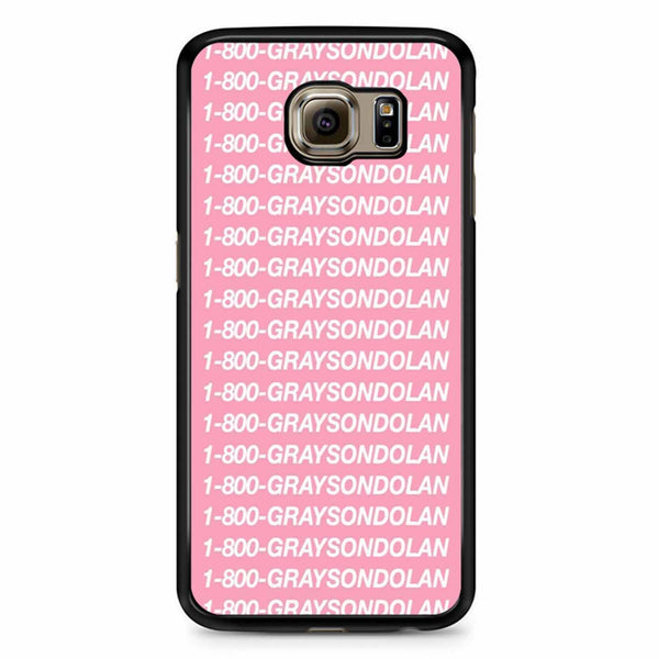 1 800 Grayson Dolan Samsung Galaxy S6 Edge Case