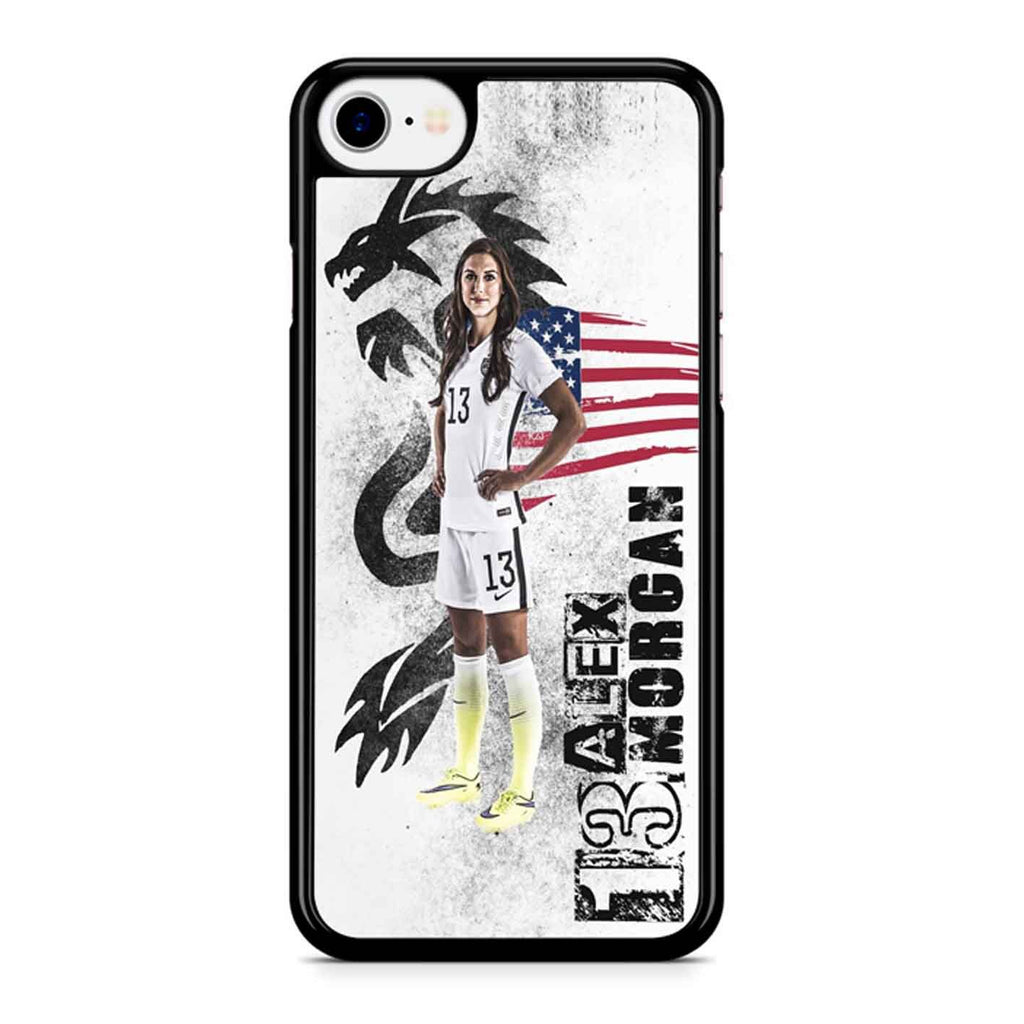 Alex Morgan Art 5 iPhone 8 Case
