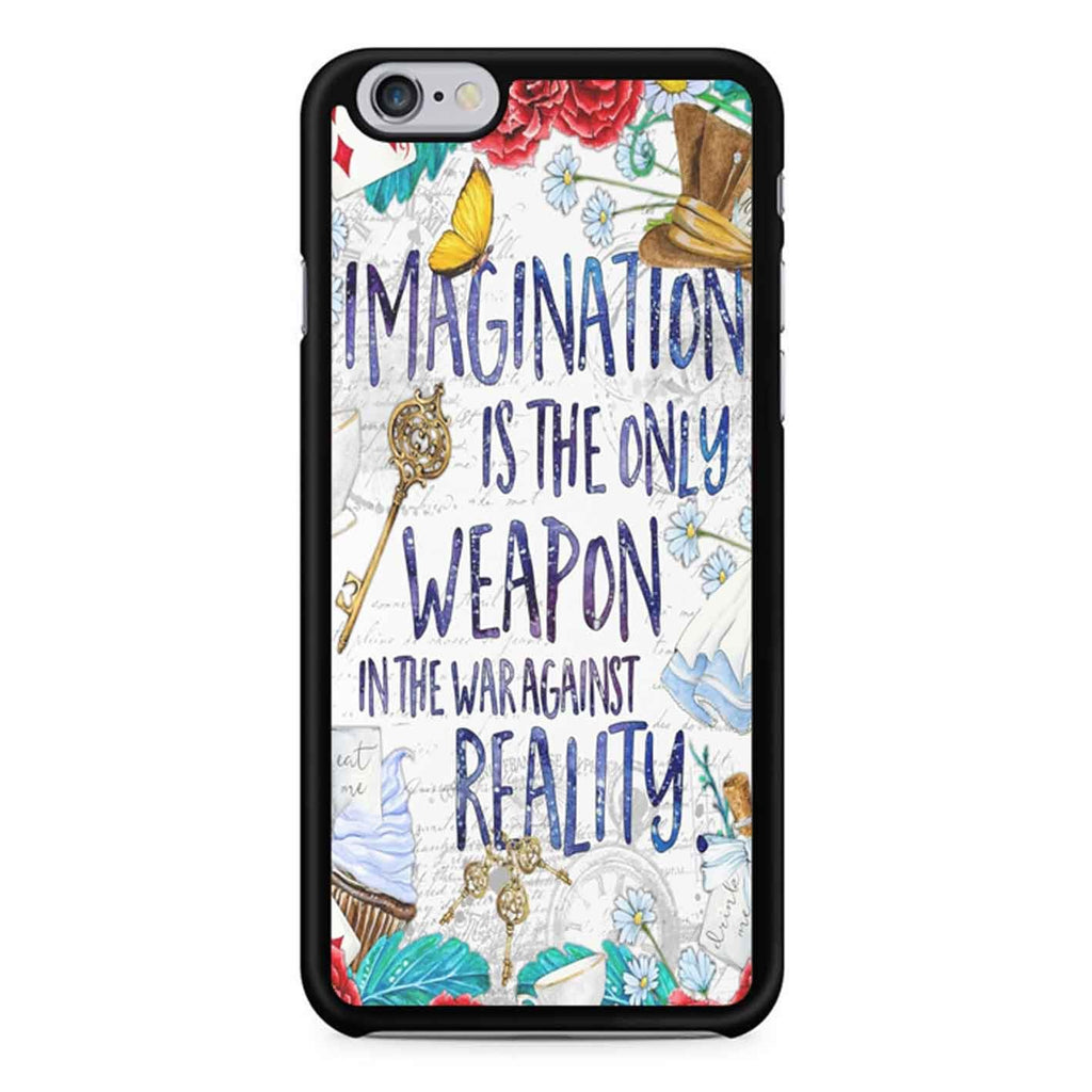 Alice In Wonderland Imagination Quote iPhone 6 / 6S Case