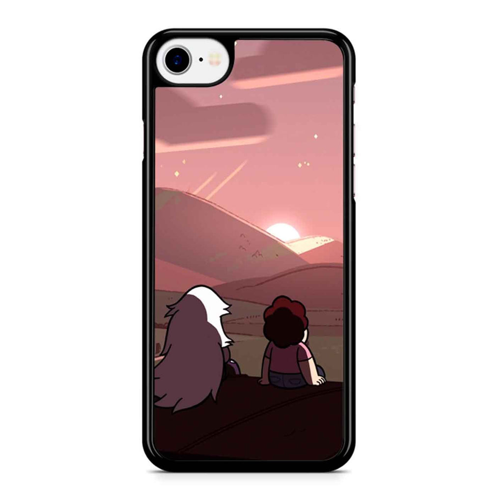 Amethyst Steven Viewing Sunset iPhone 8 Case