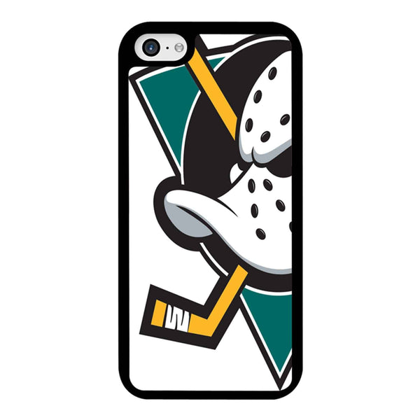Anaheim Mighty Duck Nhl White Logo iPhone 5C Case