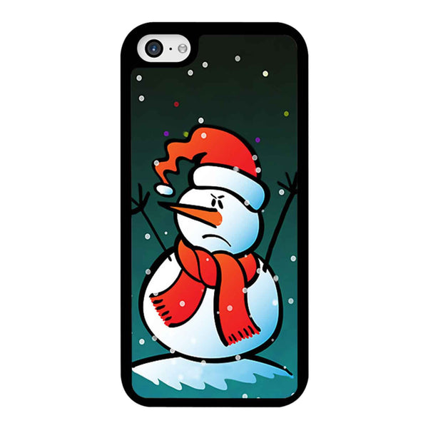 Angry Snowman iPhone 5C Case