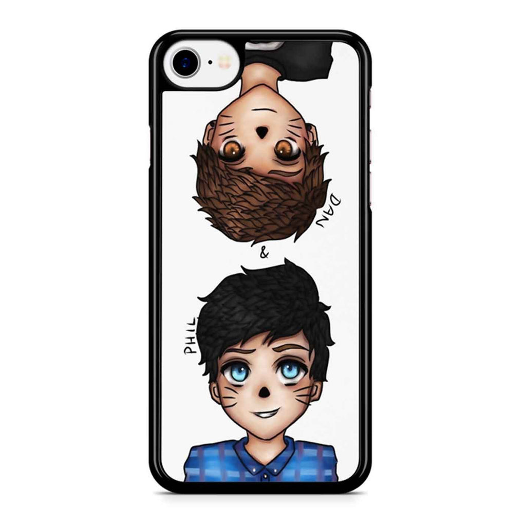 Anime Dan And Phil iPhone 8 Case