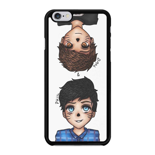 Anime Dan And Phil Iphone 6 / 6S Case