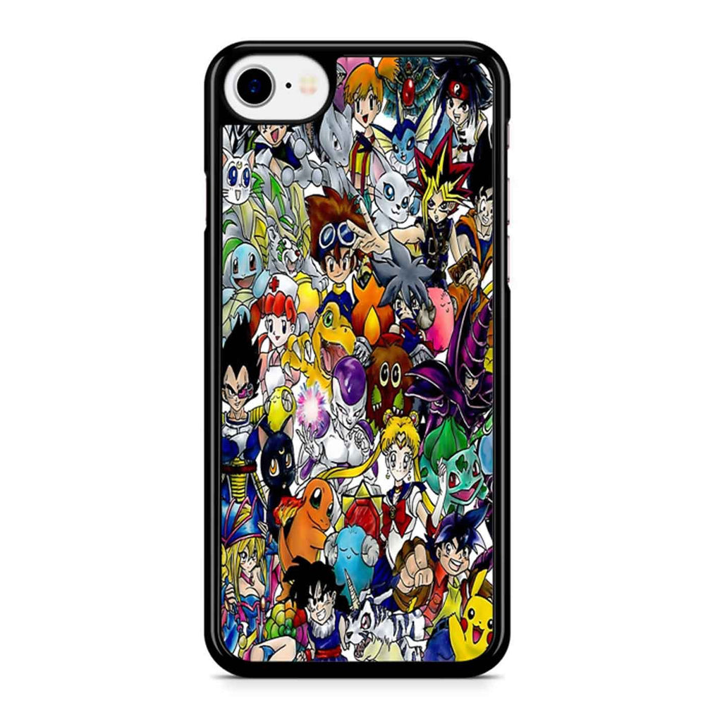 Anime Time Collage iPhone 8 Case