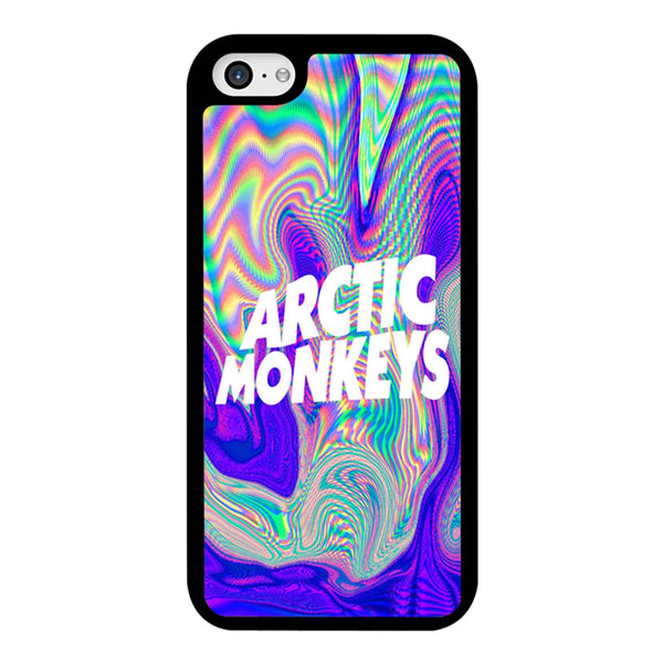 Arctic Monkey Floral Color iPhone 5C Case