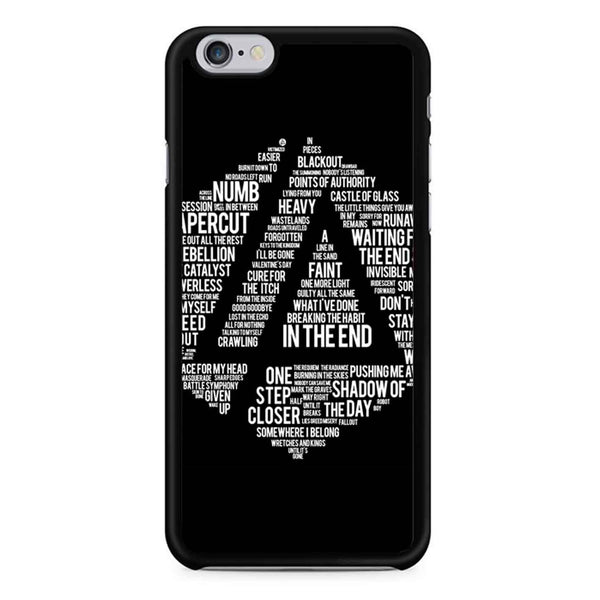 Art Print Linkin Park All Name Album iPhone 6 / 6S Case