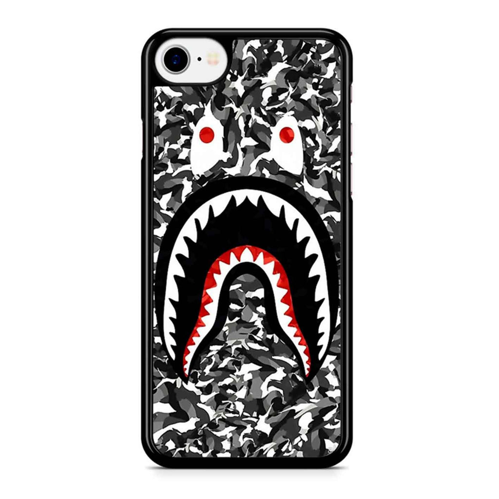 Bape Camo Shark Black iPhone 8 Case