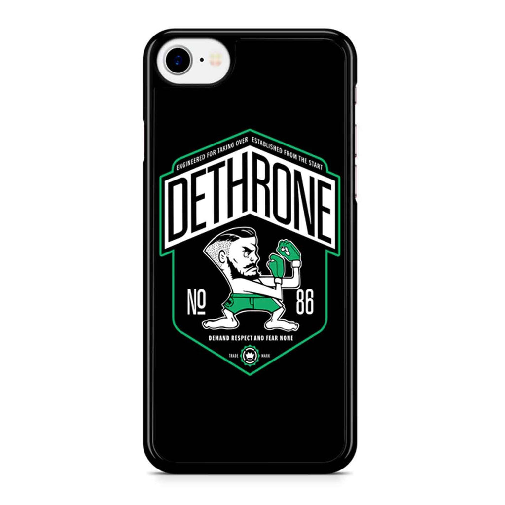Conor Mcgregor Dethrone iPhone 8 Case
