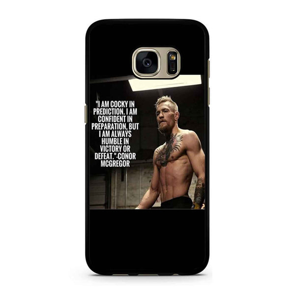 Conor Mcgregor Quote Samsung Galaxy S7 Case