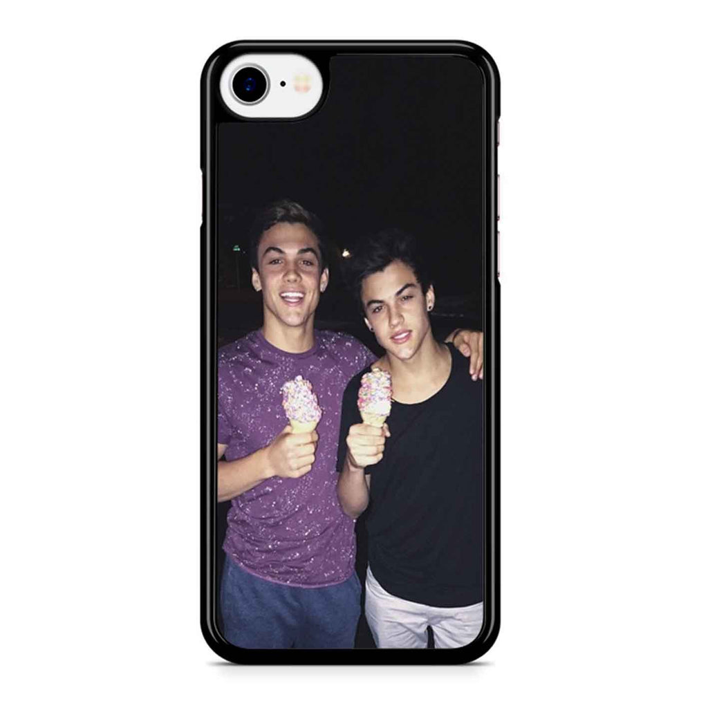 Dolan Twins Ethan Grayson Ice Cream iPhone 8 Case