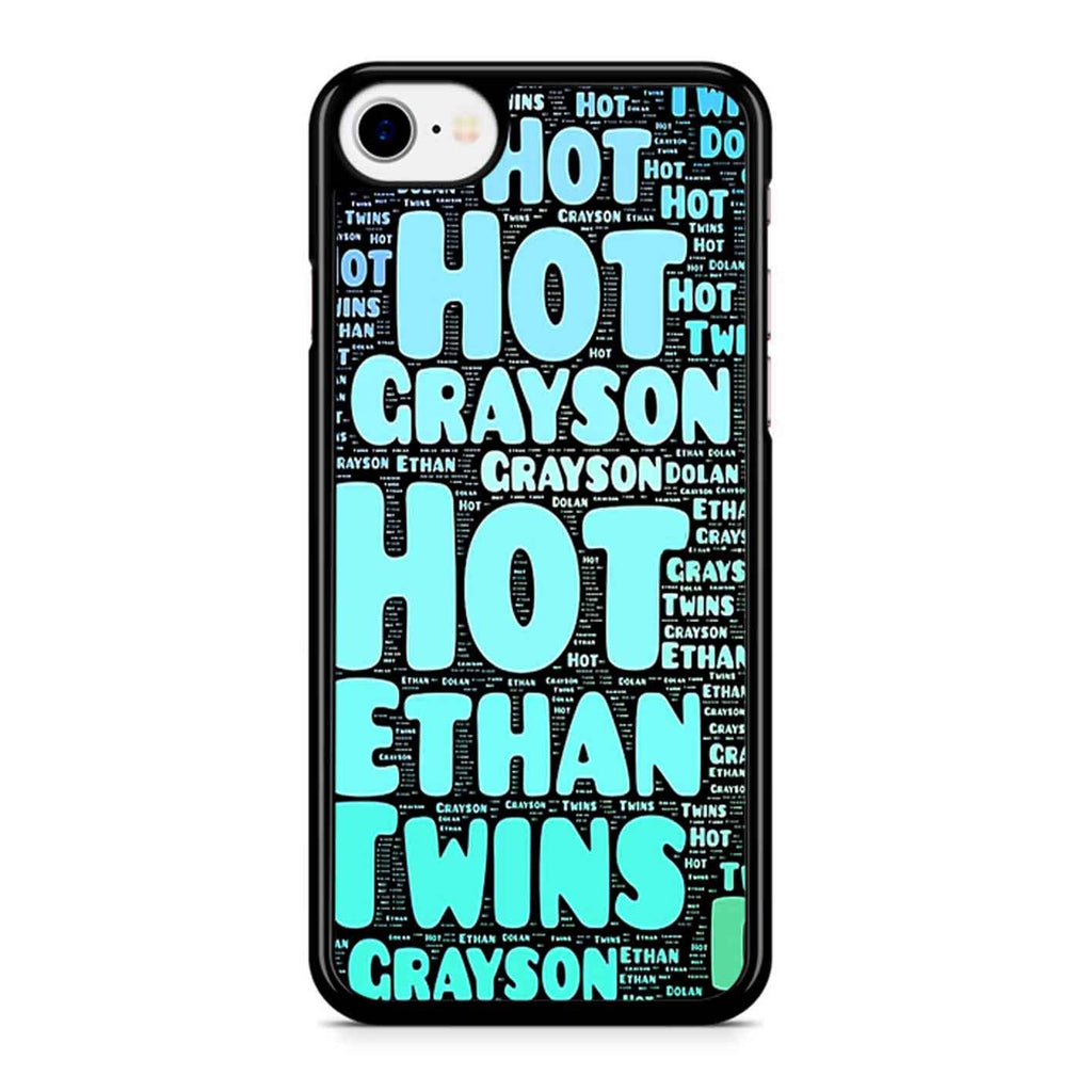 Dolan Twins Word Collage 1 iPhone 8 Case