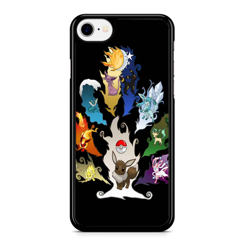 Eeveelution Tree iPhone 8 Case