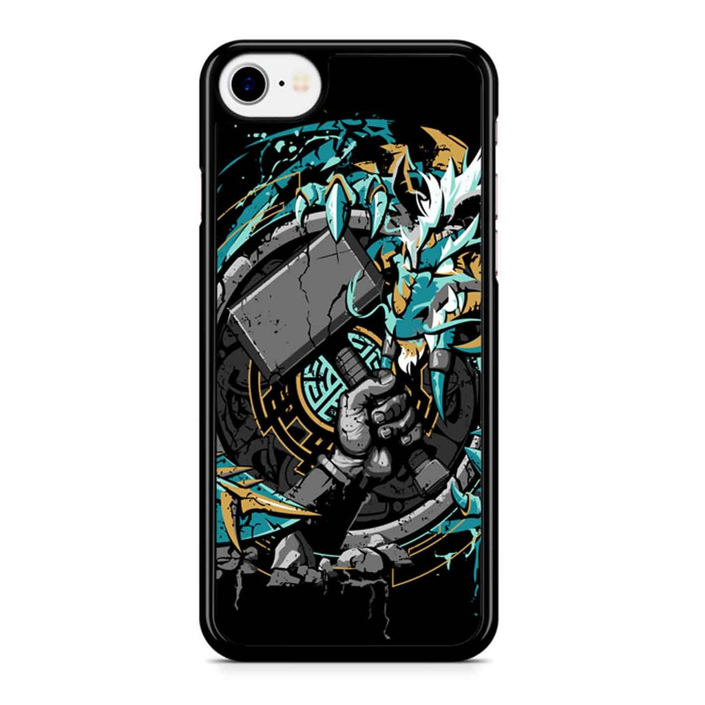 Emerald Dragon iPhone 8 Case
