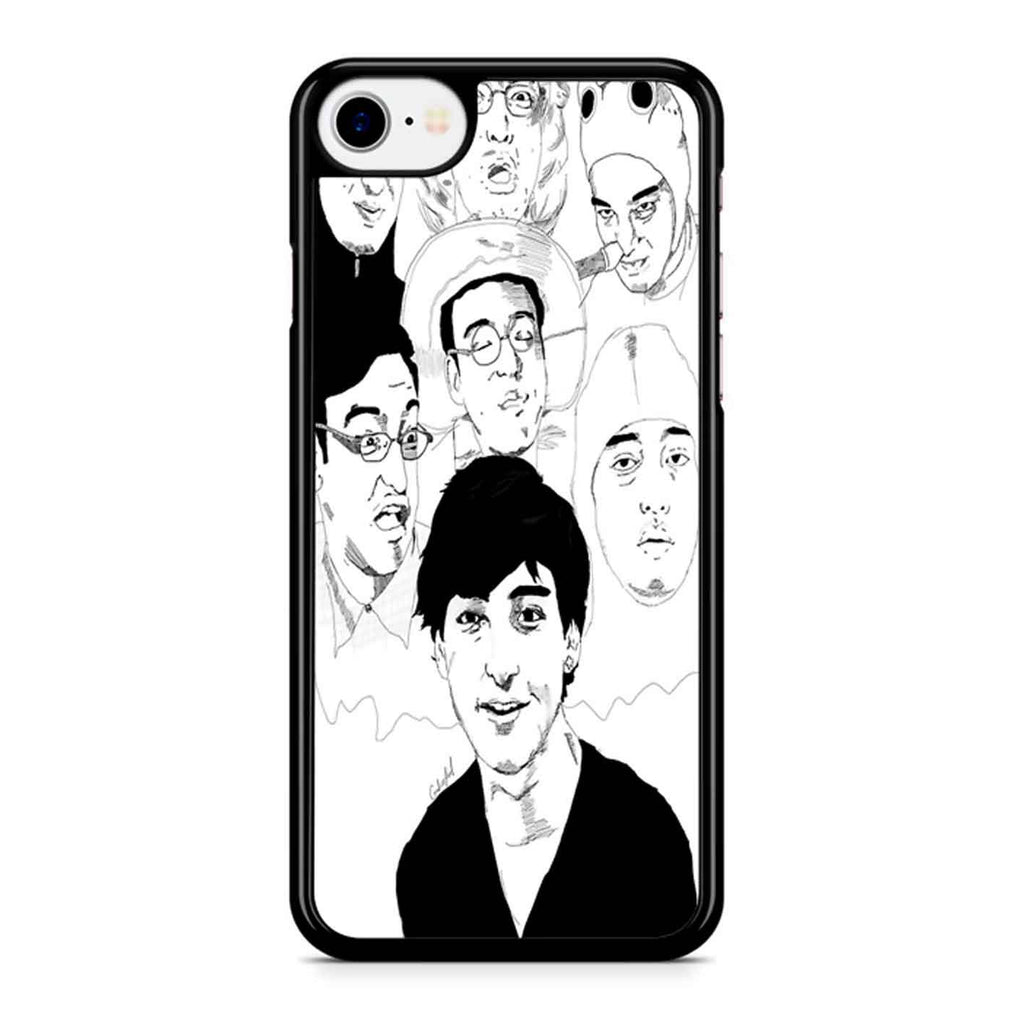 Filthy Frank Sketch Art iPhone 8 Case
