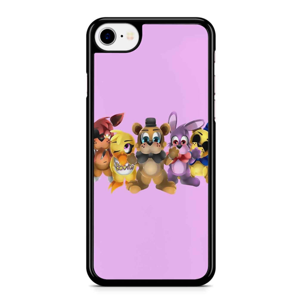 Five Nights Of Kawaii Chibi iPhone 8 Case