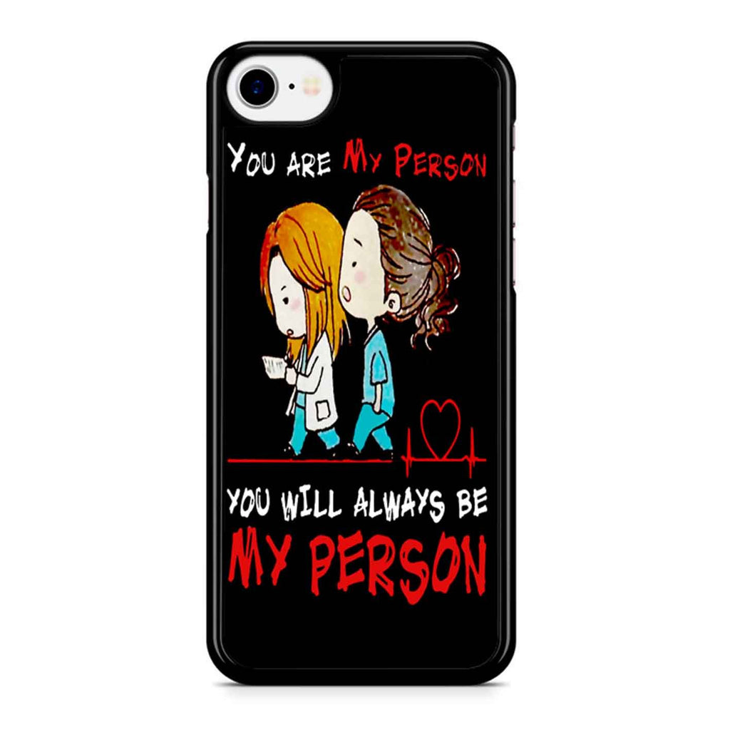 Grey S Anatomy - You Are My Person 2 iPhone 8 Case