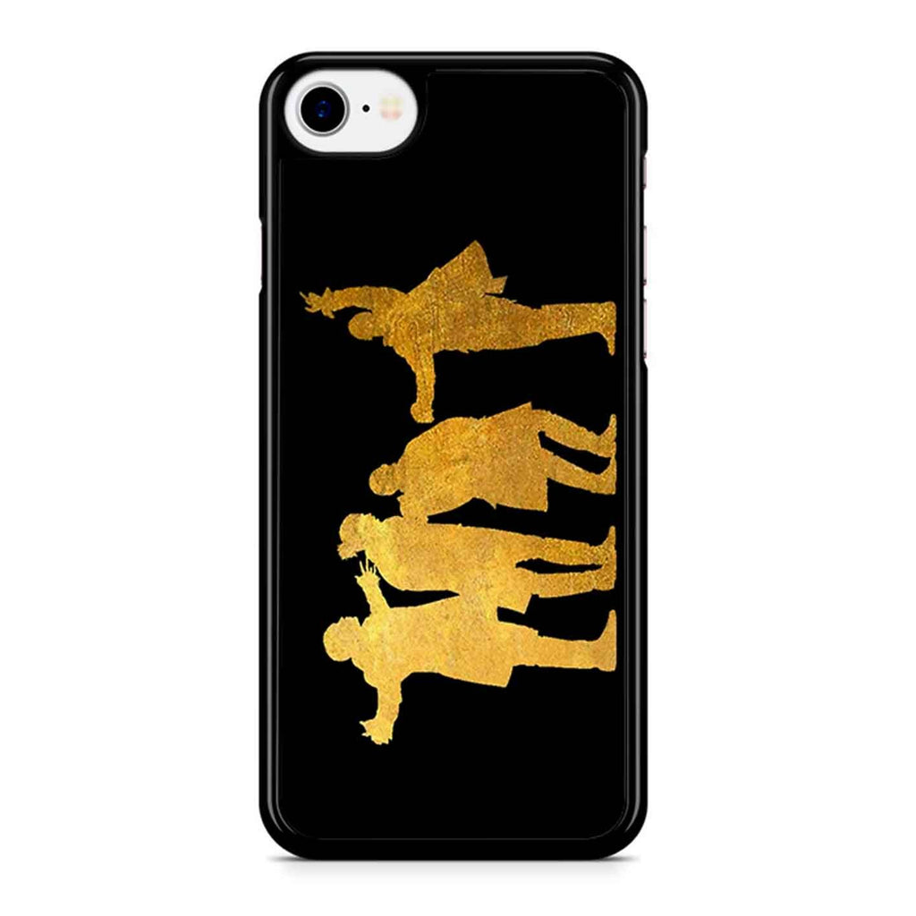 Hamilton- Da Boyz Gold Horizontal iPhone 8 Case